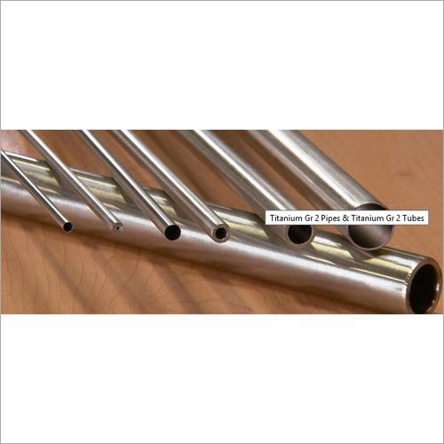 Titanium Gr.2 Pipe UNS R50400
