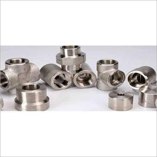 Titanium Gr.2 Alloy Forged Fitting UNS R50400