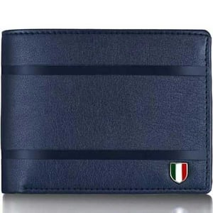 Fabric leather wallet