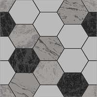 Geometric Design Carpet Tile