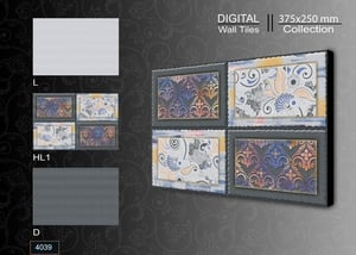 250 X 375 MM Digital Wall Tiles