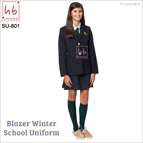 Blazer Winter School Uniform