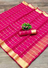 Pure Banarasi Kota Doriya saree