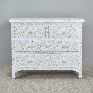 Modern Pearl Chest Of Drawer