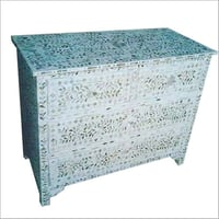 Mother Of Pearl Modern Chest Of Drawer