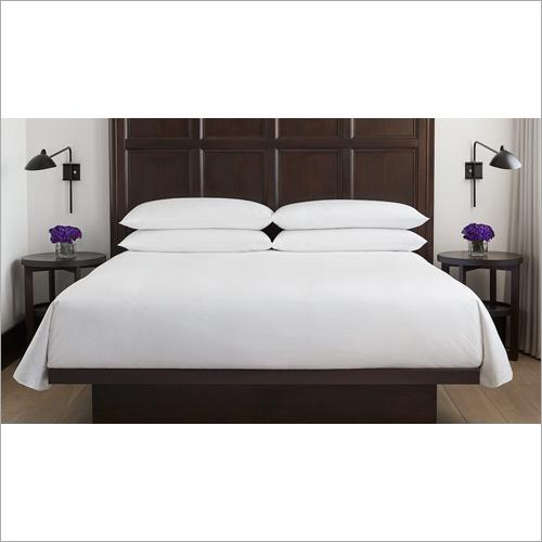 White Plain Percale Bed Sheet