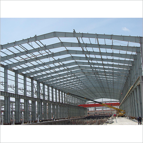 Epoxy Zinc Rich Painted PEB Steel Structure