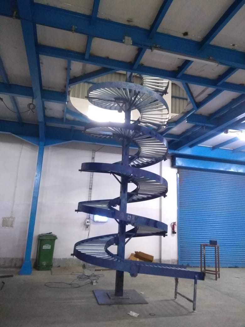 Industrial Spiral Conveyor System