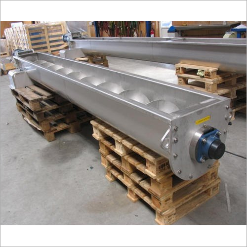 Carbon Steel Spiral Screw Conveyors