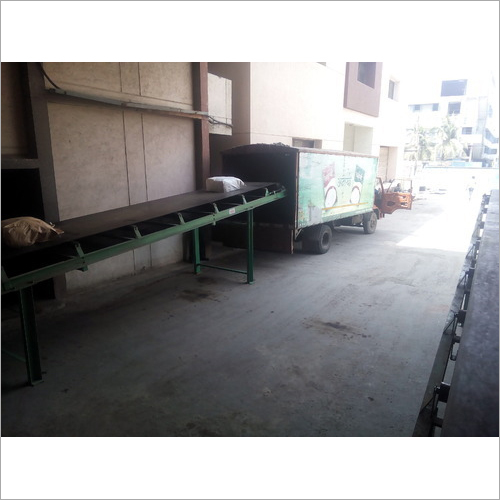 Container Loading Belt Conveyor