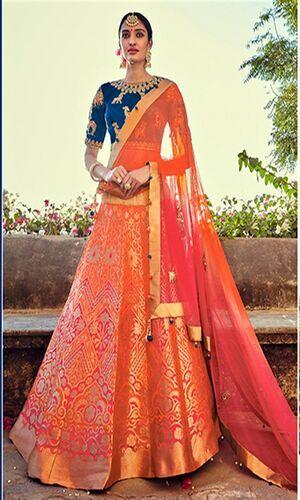 Banarasi brocade Lehnga cholis