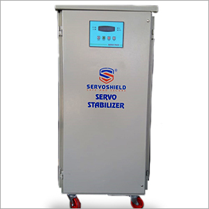 Three Phase Air Cooled Micro Controller Based Servo Stabilizer