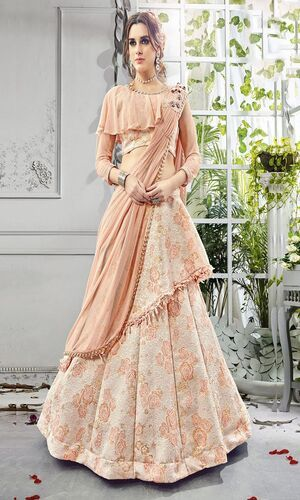 Western Gown and Lehnga Cholis