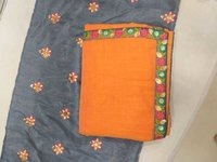 CHANDERI CHEX COTTON SAREE