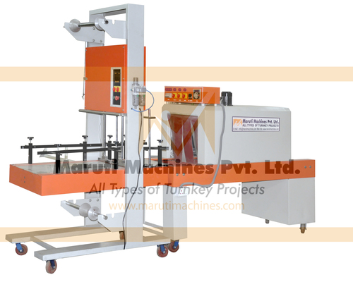 Semi Auto Bulk Shrink Wrapping Machine