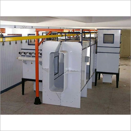 Auto Powder Booth