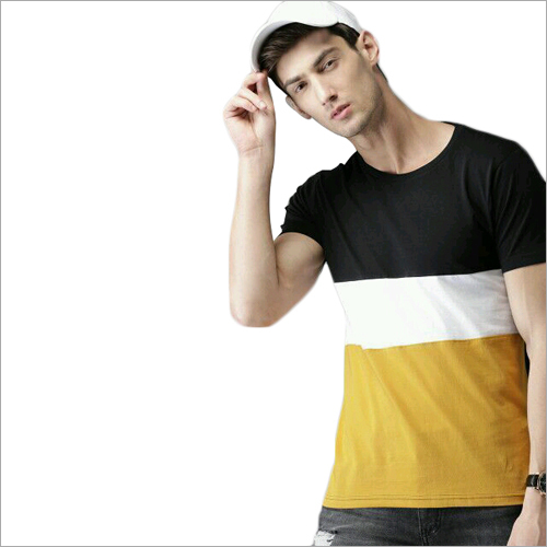 Mens Half Sleeves Designer T-Shirt