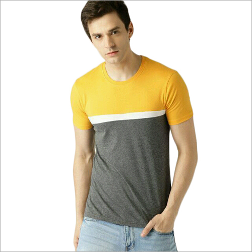 Mens Crew Neck T- shirt