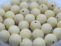 natural brown wooden beads