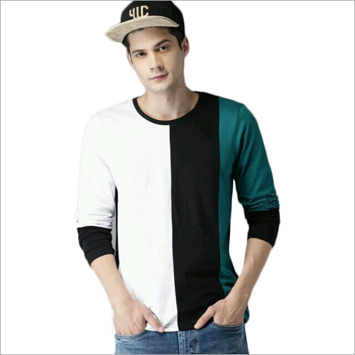 Mens Full Sleeves Round Neck T-Shirt