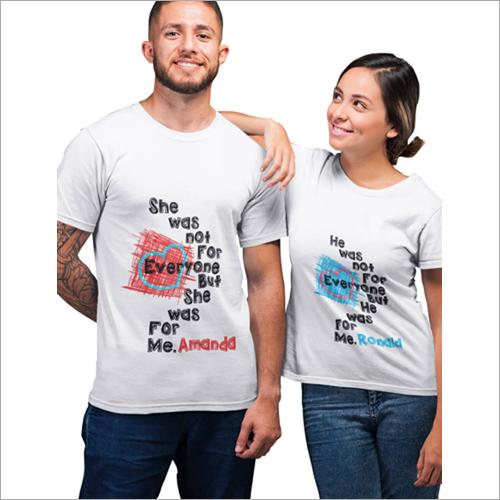 Customized Couple T-Shirts