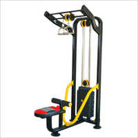 Hi Lat Pull Machine