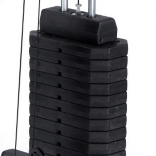 Gym Machine Fiber Weight Stack