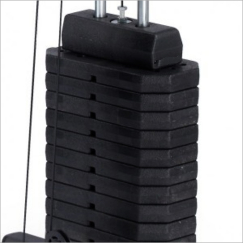 Gym Machine Fiber Weight Stack