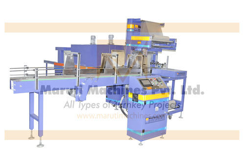 SS Shrink wrapping machine