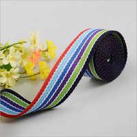 Striped Nylon Webbing Tape