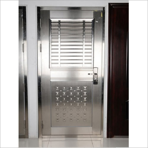 Designer Stainless Steel Door