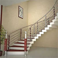 Stylish Stainless Steel Railing