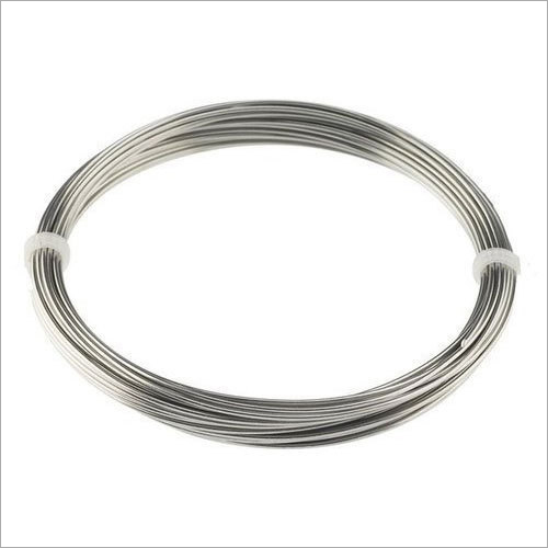 Silver Stainless Steel Wire