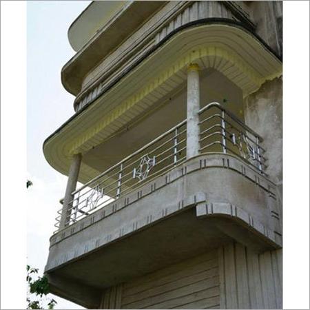 Stainless Steel Glass Balcony Railing