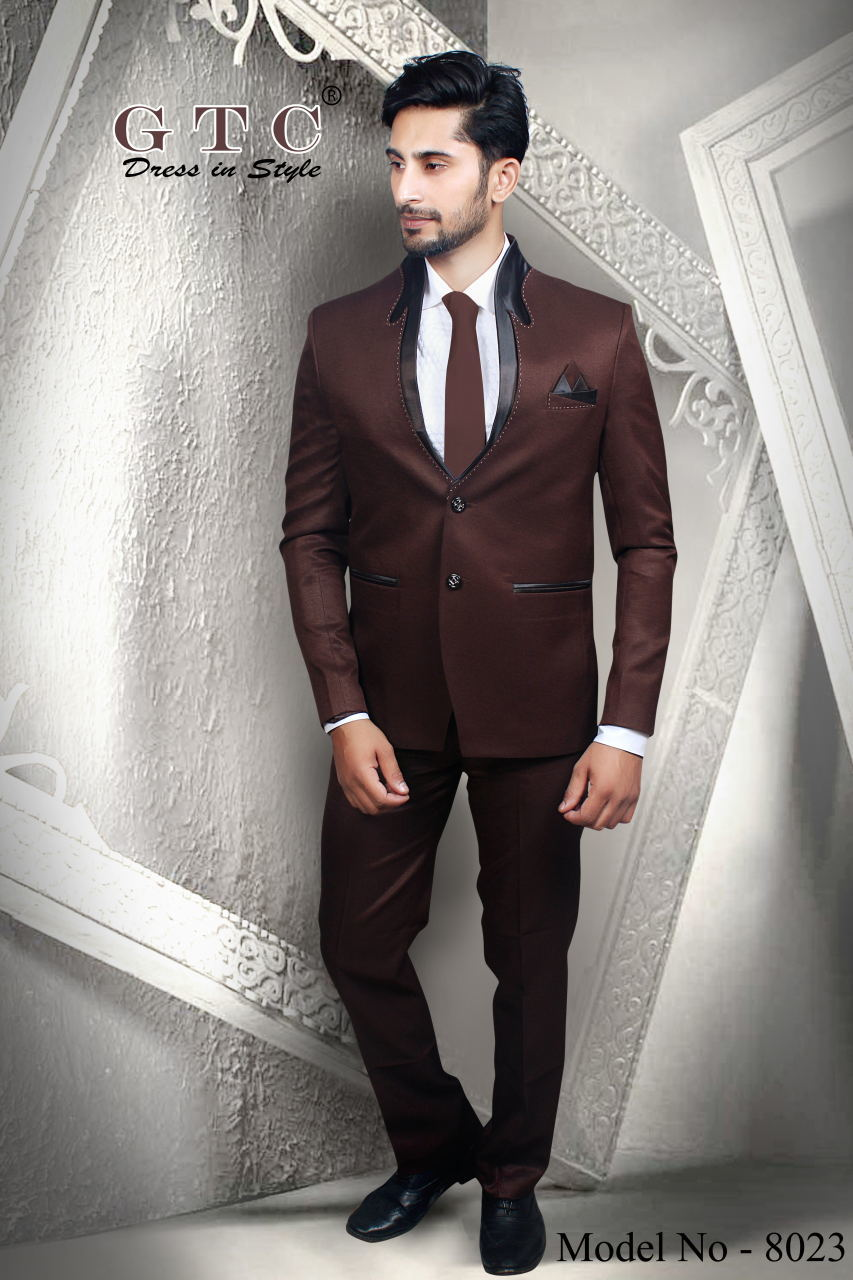8023 Designer Men Suit
