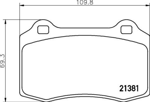 Jaguar RR Brake Pads