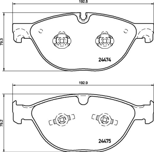 Jaguar FR Brake Pads