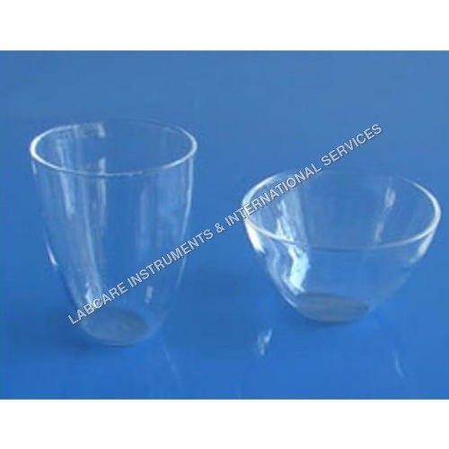 Low Form Silica Crucible Transparent