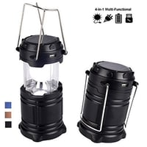 874 Rechargeable Camping Lantern LED Solar Emergency Light Bulb