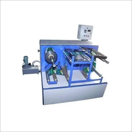 Side Loading Rewinder Machine