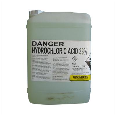 33 Percent Hydrochloric Acid