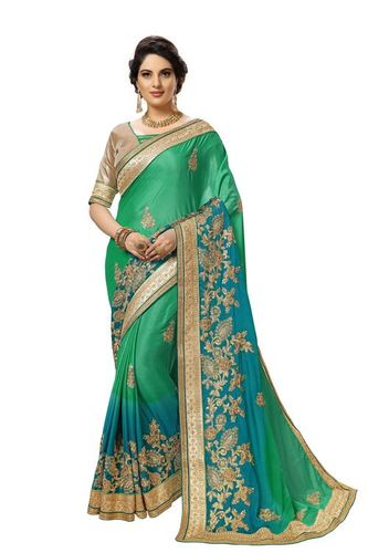 Sequins work Saree