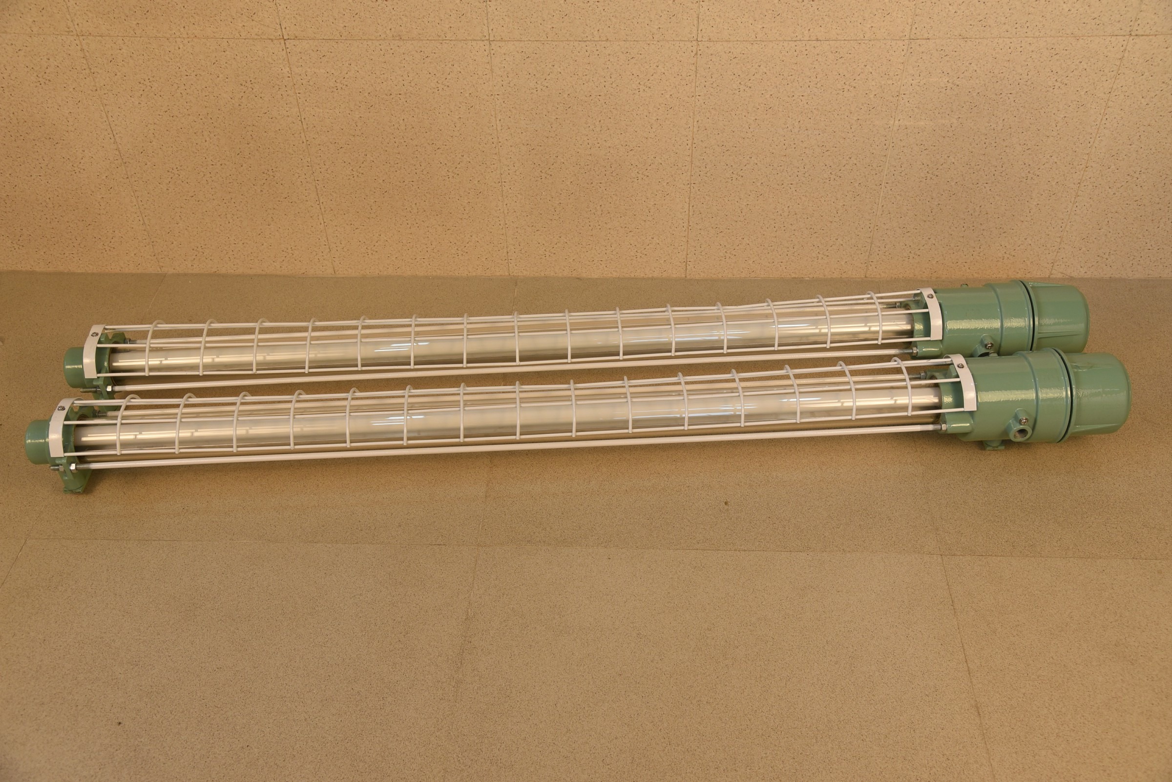 Flameproof Tube Light Fixture