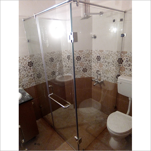 Shower Glass Sliding Partition
