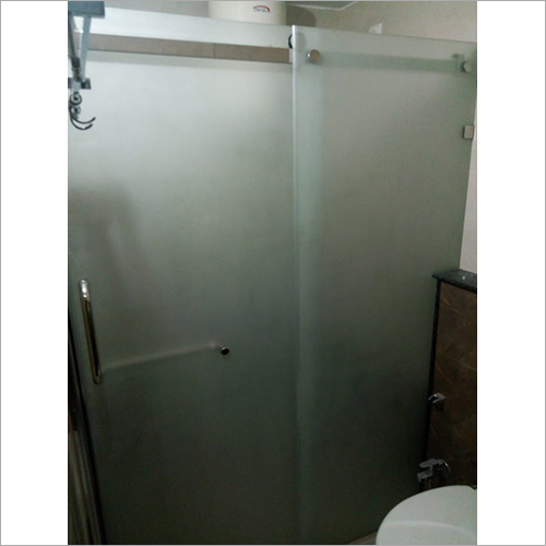 Shower Frosted Glass Partition