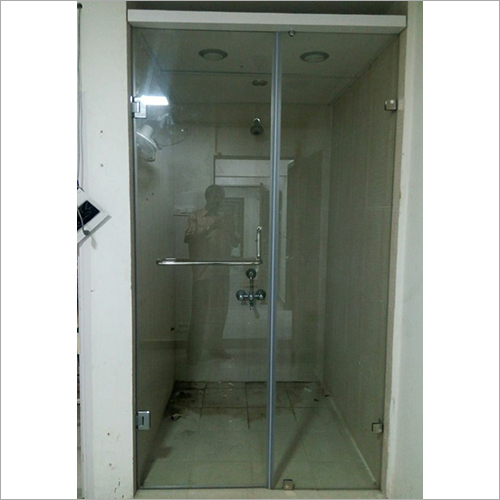 Modern Sliding Glass Shower Partition