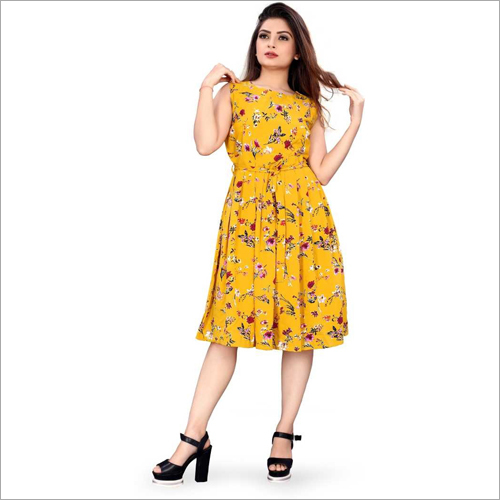 Ladies Casual Short Dress