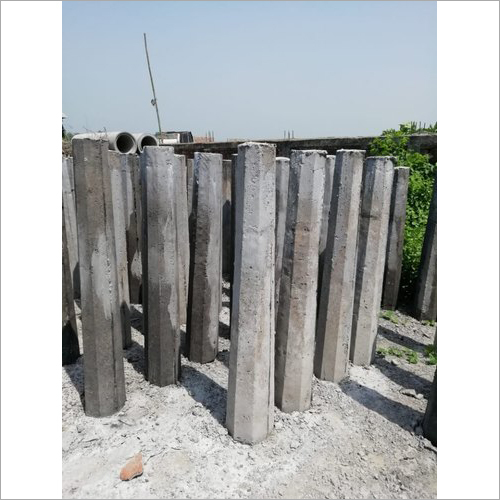 Concrete Guard Post