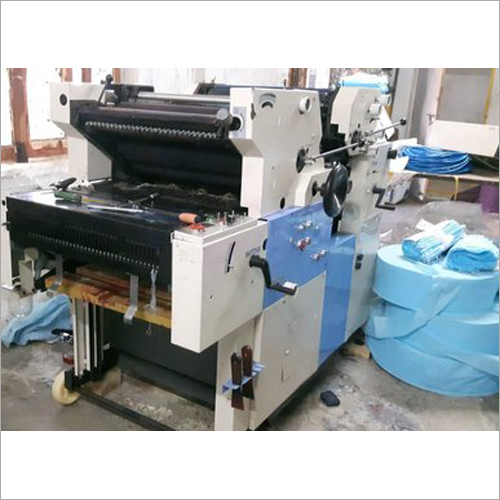 AMP Offset 2 Color Non Woven Bag Making Machine