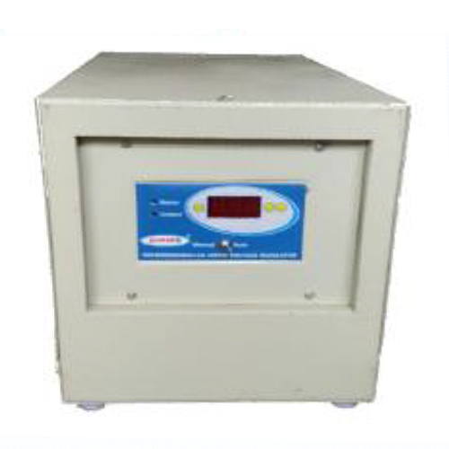 10 KVA Air Cooled Servo Voltage Stabilizer